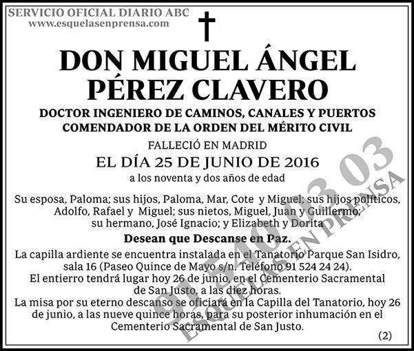 Miguel Ángel Pérez Clavero